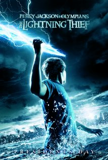 Percy Jackson & the Olympians: The Lightning Thief (2010) cover