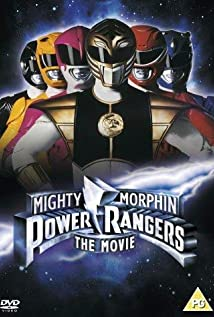 Mighty Morphin' Power Rangers (1993) cover