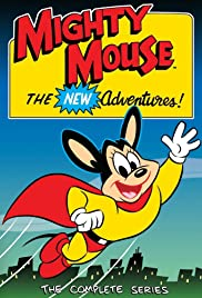 Mighty Mouse, the New Adventures (1987) cover
