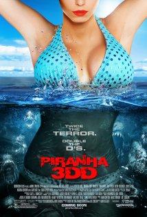 Piranha 3DD (2012) cover