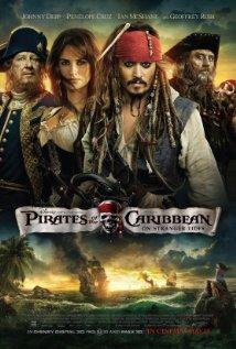 Pirates of the Caribbean: On Stranger Tides 2011 poster