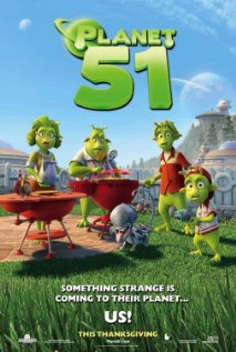 Planet 51 (2009) cover
