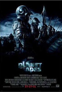 Planet of the Apes (2001) cover