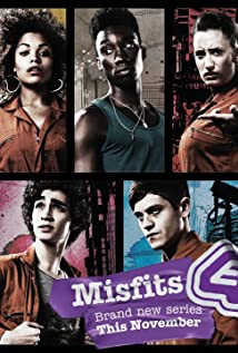 Misfits (2009) cover