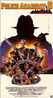 Police Academy 6: City Under Siege 1989 poster