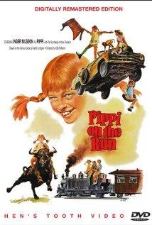 På rymmen med Pippi Långstrump (1970) cover