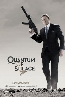 Quantum of Solace (2008) cover