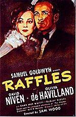 Raffles (1939) cover