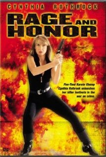 Rage and Honor 1992 poster