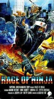 Rage of Ninja 1988 poster