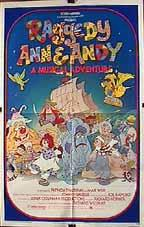 Raggedy Ann & Andy: A Musical Adventure (1977) cover