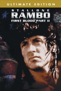 Rambo: First Blood Part II 1985 poster