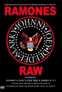 Ramones Raw 2004 poster