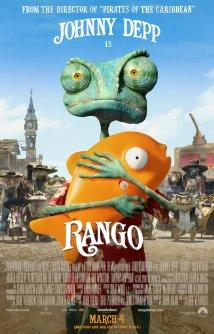 Rango (2011) cover