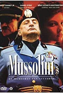 Mussolini: The Untold Story 1985 poster