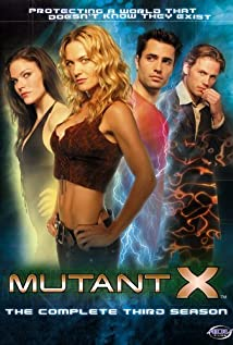 Mutant X 2001 poster