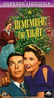 Remember the Night 1940 poster