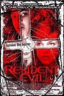 Resident Evil 2002 poster