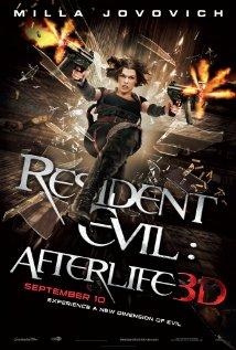 Resident Evil: Afterlife (2010) cover