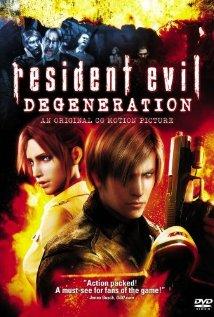 Resident Evil: Degeneration (2008) cover