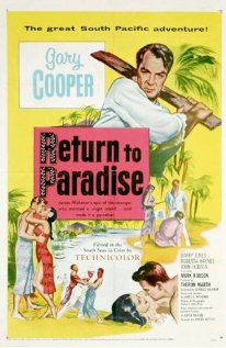 Return to Paradise 1953 poster
