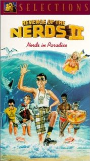 Revenge of the Nerds II: Nerds in Paradise (1987) cover