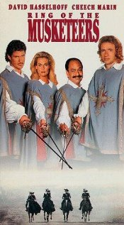 Ring of the Musketeers (1992) cover