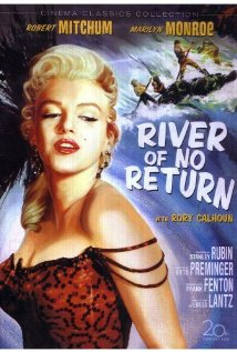 River of No Return 1954 poster
