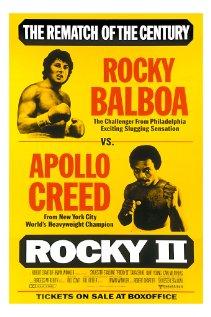 Rocky II (1979) cover