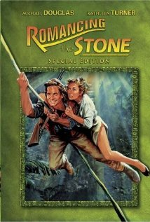 Romancing the Stone (1984) cover