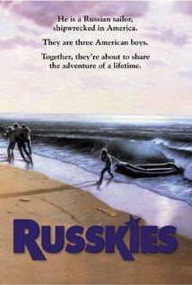 Russkies 1987 poster