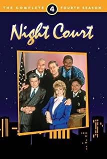Night Court 1984 poster