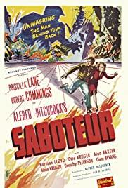 Saboteur (1942) cover