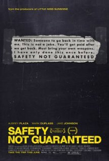 Safety Not Guaranteed (2012) cover