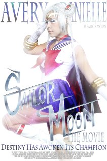 Sailor Moon the Movie (2011) cover