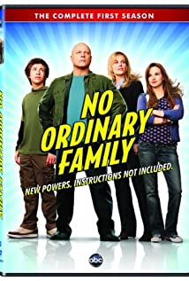 No Ordinary Family 2010 poster