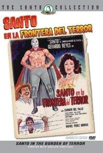 Santo en la frontera del terror (1969) cover