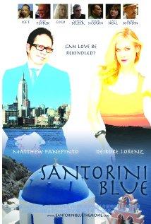 Santorini Blue 2013 poster