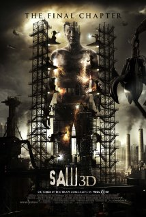Saw 3D (2010) cover