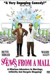 Scenes from a Mall 1991 poster