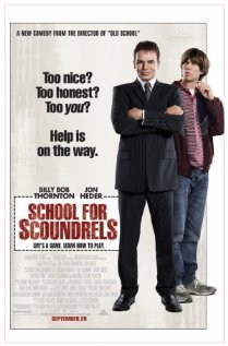 School for Scoundrels 2006 poster
