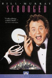 Scrooged (1988) cover