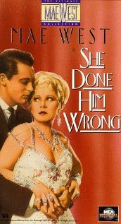 She Done Him Wrong 1933 poster