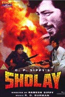 Sholay 1975 poster