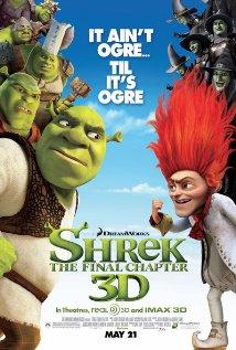 Shrek Forever After (2010) cover