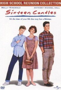 Sixteen Candles (1984) cover