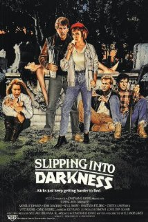 Slipping Into Darkness 1988 poster