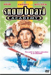 Snowboard Academy (1996) cover