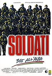 Soldati - 365 all'alba 1987 poster