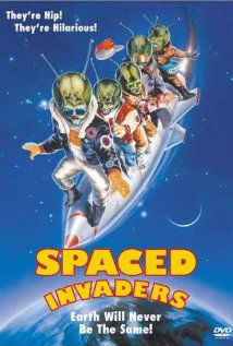 Spaced Invaders (1990) cover